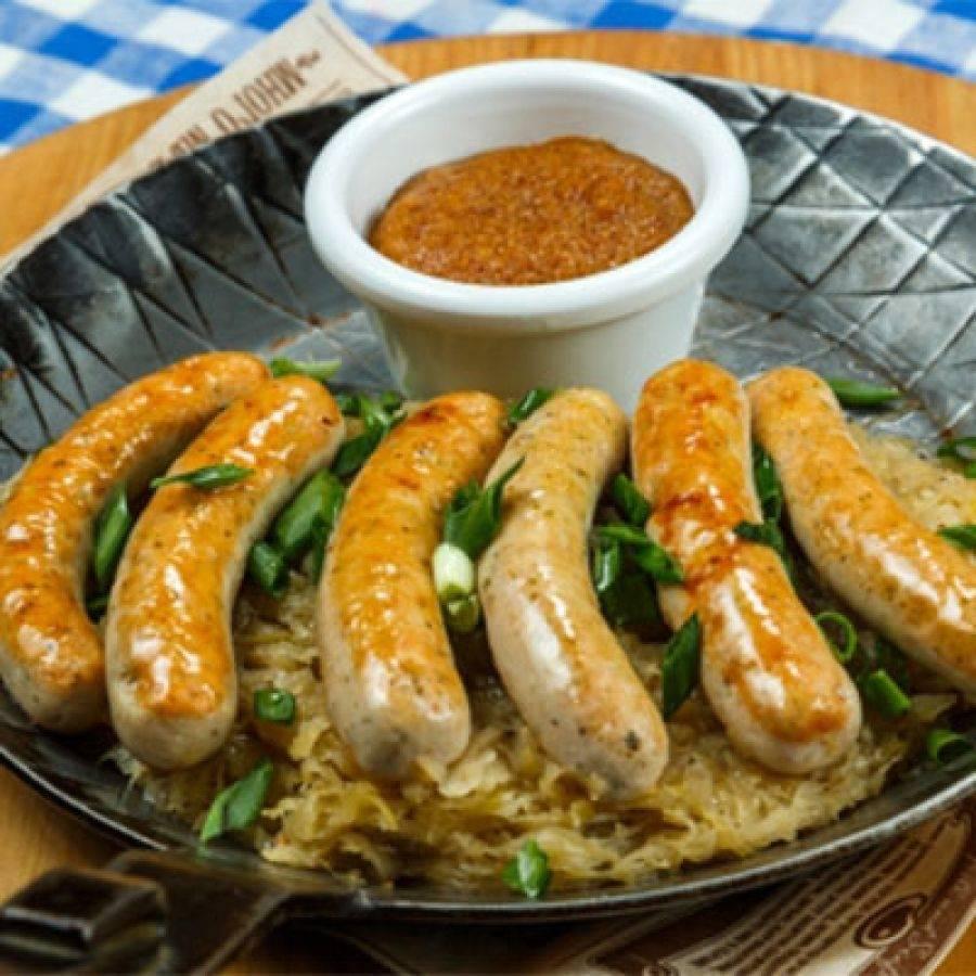 Немецкий деликатес – баварские колбаски