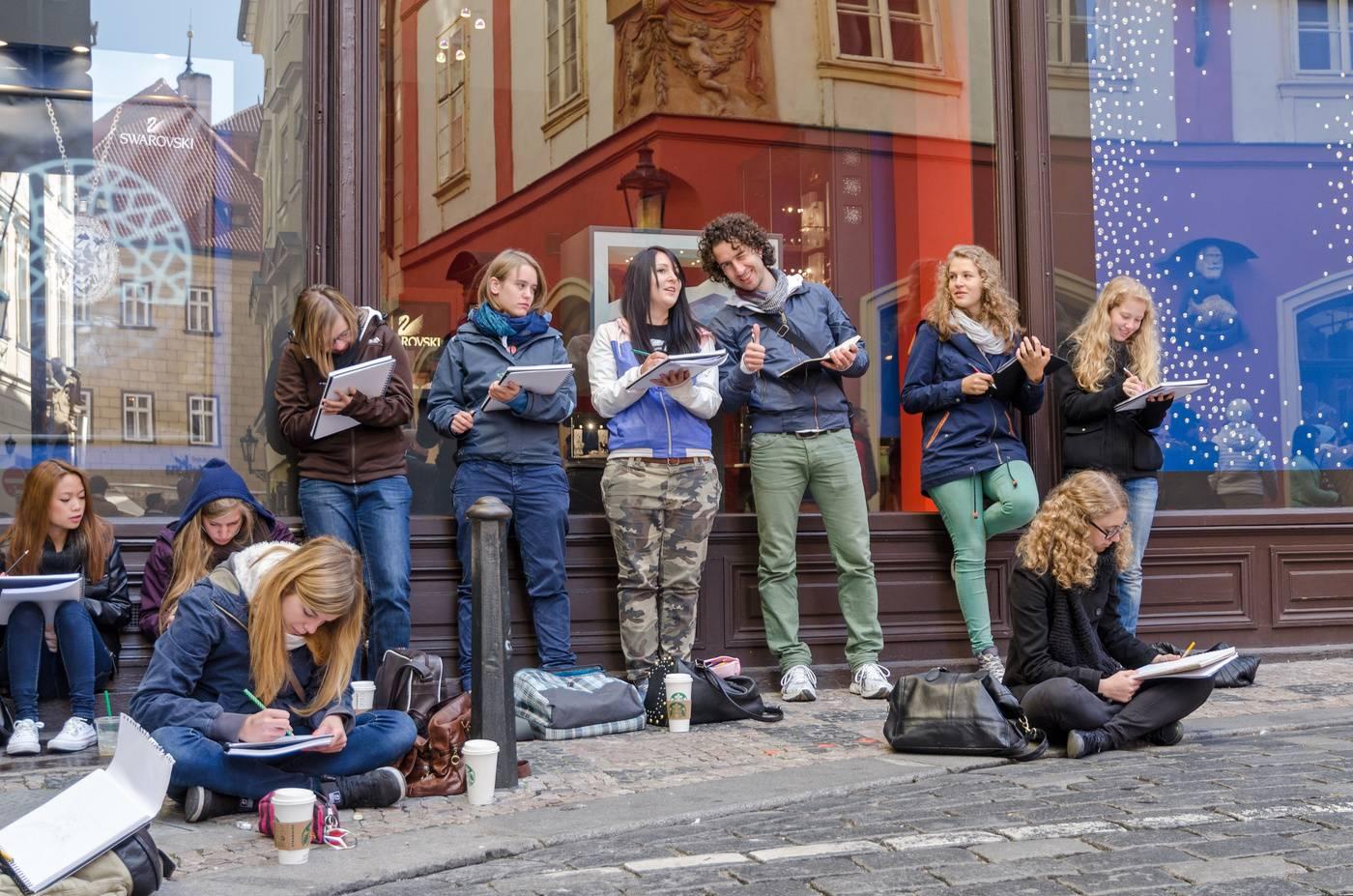Расходы на проживание студентов в чехии