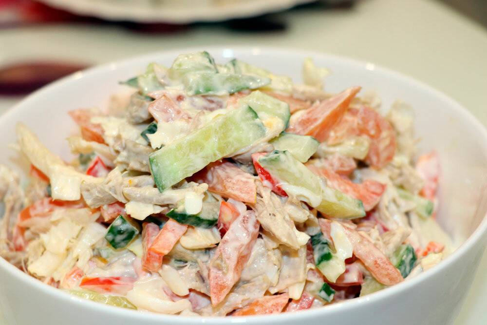 Как приготовить салат мюнхен