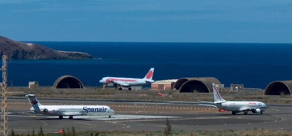 Аэропорт гран канария