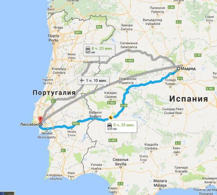 Как добраться из Мадрида в Малагу: самые удобные способы
