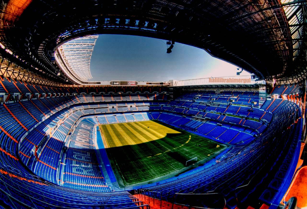 Самые известные стадионы испании