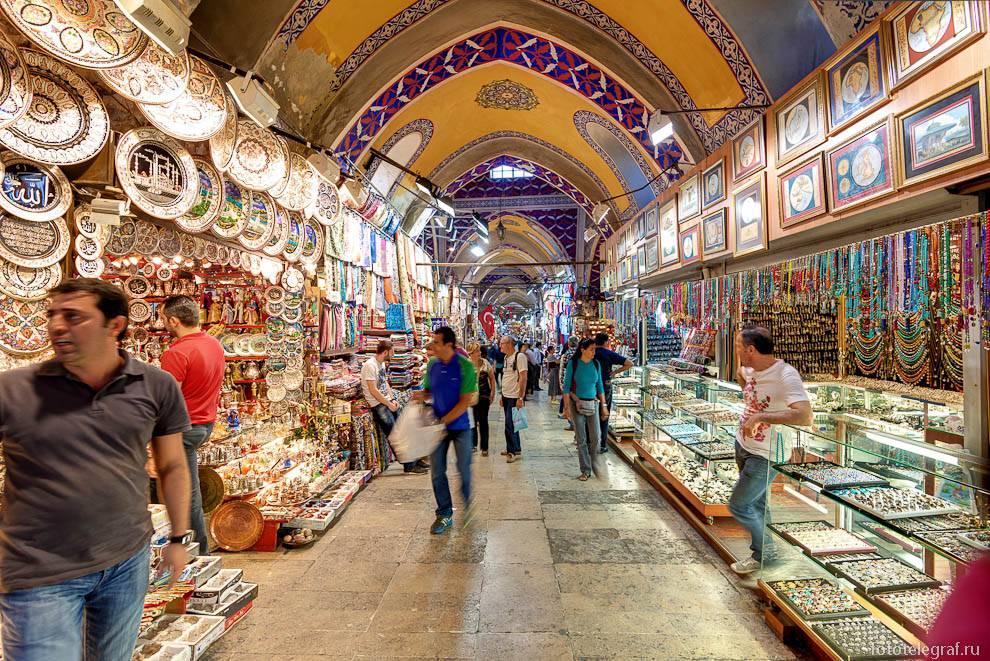Гранд-базар в стамбуле: расположение, история, ассортимент, цены
