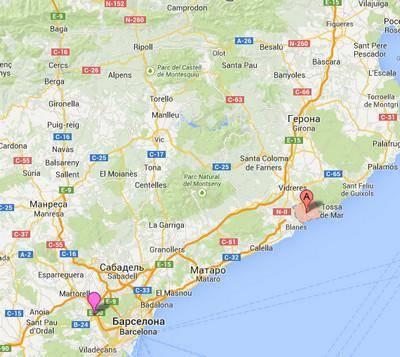 Из барселоны в ллорет-де-мар — трансфер из аэропорта, как добраться на автобусе, поезде (электричке): расстояние, расписание и стоимость билетов в 2019 году