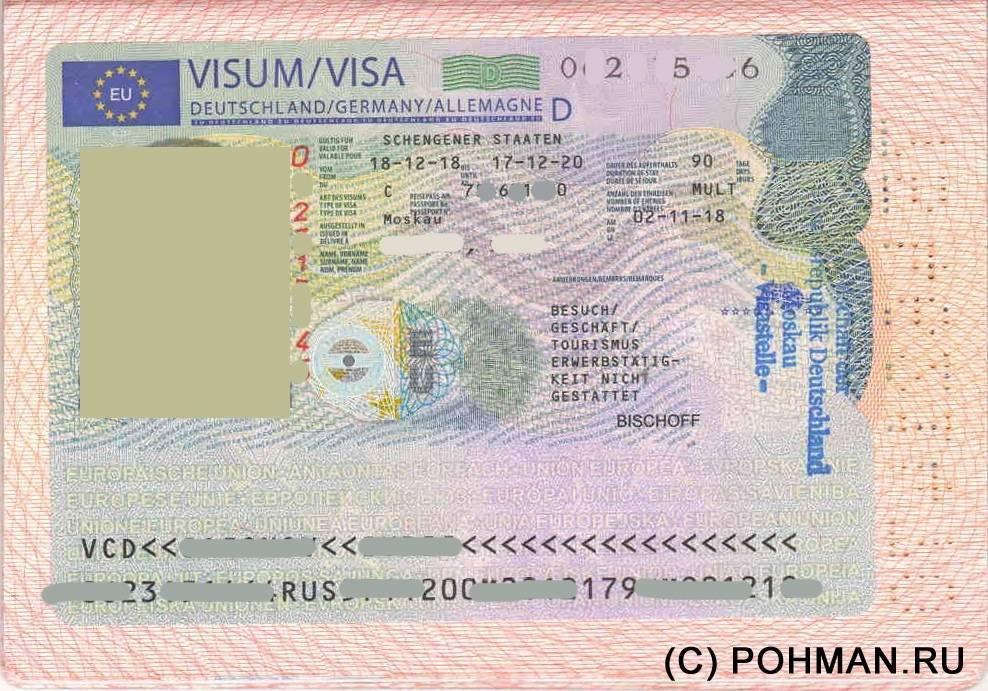 Как получить шенгенскую визу в германию для россиян