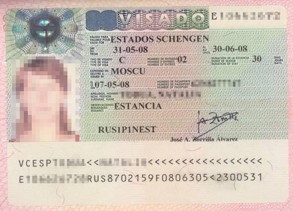 Правила оформления приглашения для получения визы в генеральном консульстве испании в москве