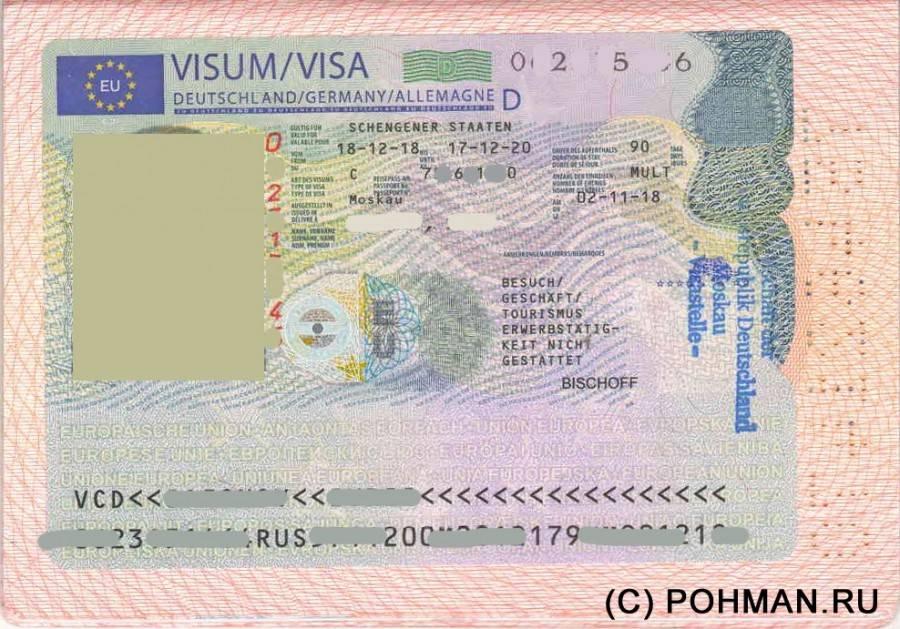 Все виды виз в германию: условия, получение, оформление, цены, документы