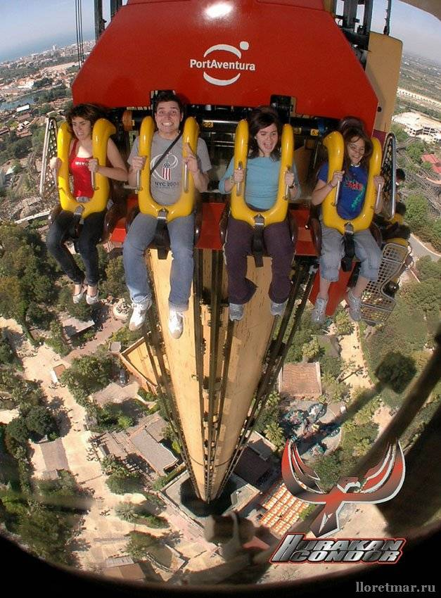 Хотите повизжать от страха – парк развлечений порт авентура в испании к вашим услугам