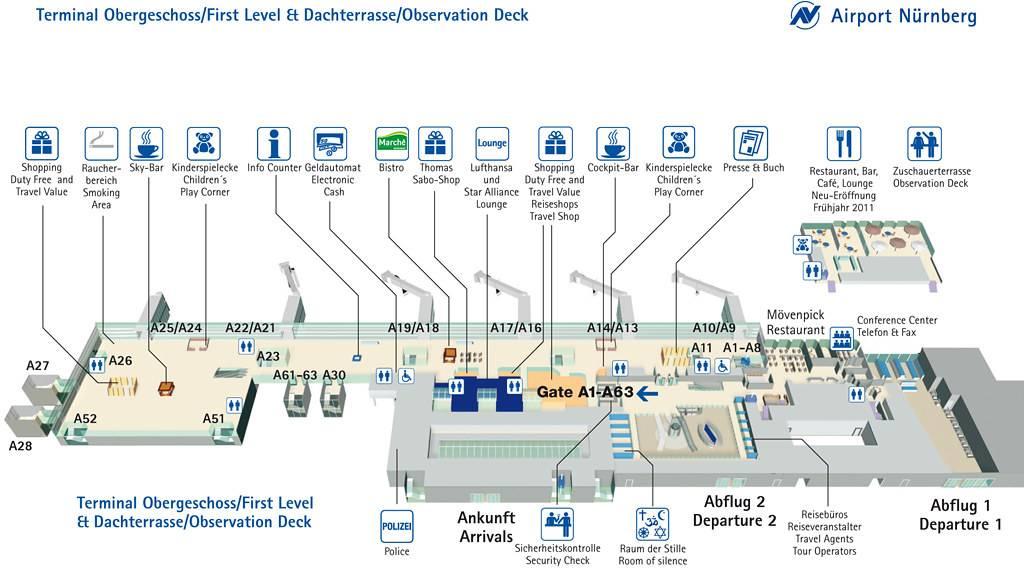Аэропорт франкфурта-на-майне — цифры и факты, советы и отзывы