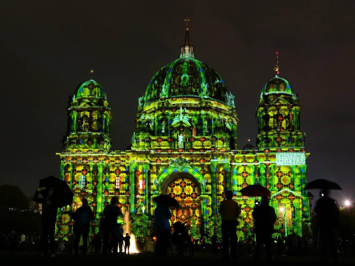 Национальные праздники германии: берлинский фестиваль света.
