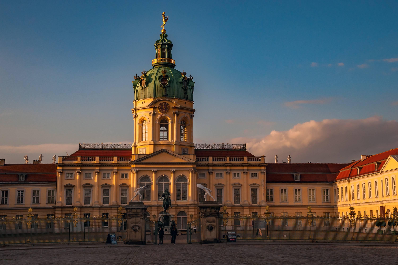 Замок шарлоттенбург (schloss charlottenburg) - замки германии