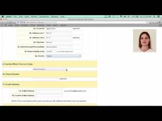 Инструкция как заполнить анкету грин карты от а до я