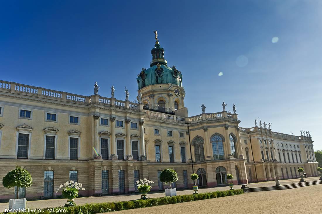 Дворец шарлоттенбург - одна из самых роскошных достопримечательностей берлина