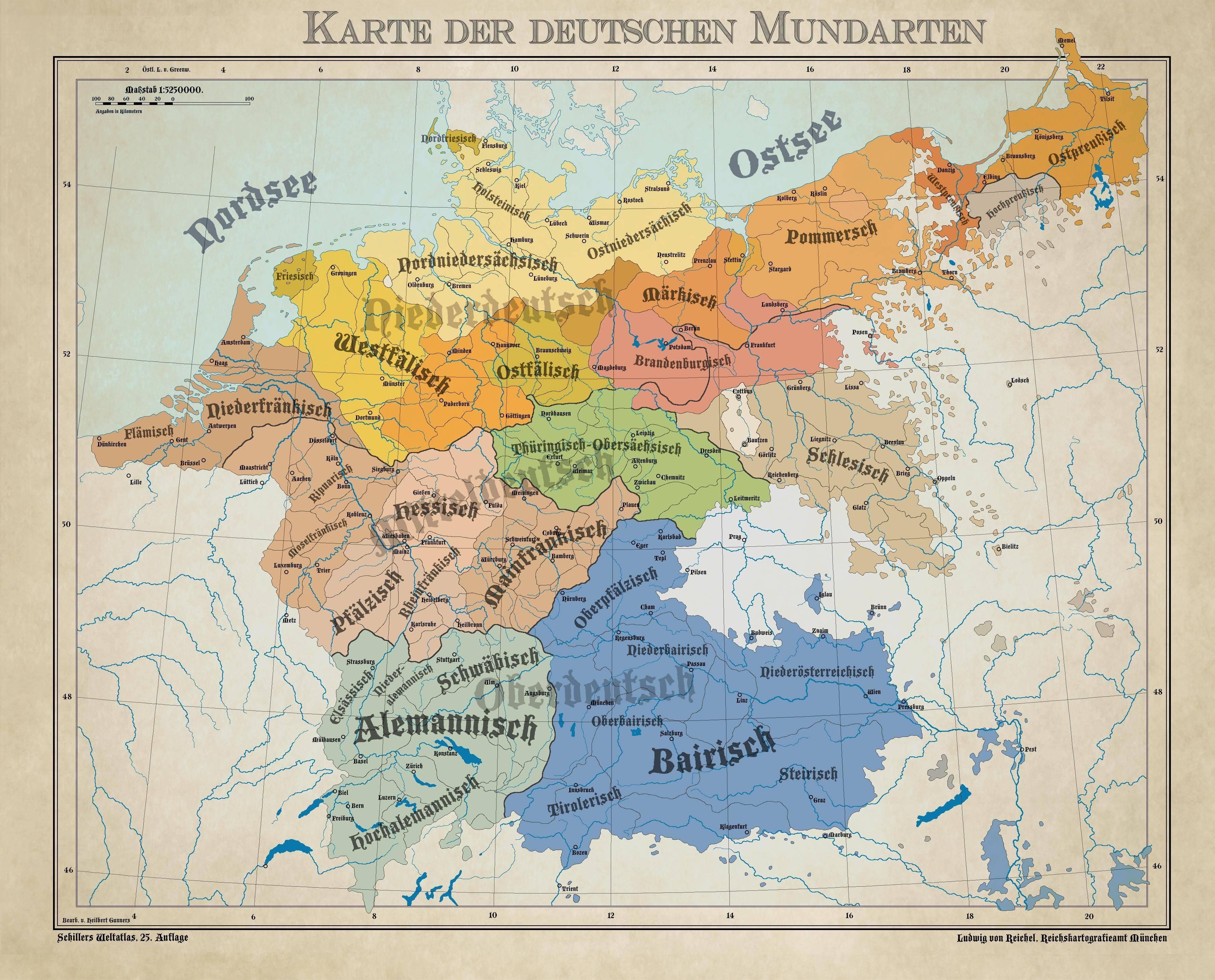 На каком языке чаще всего говорят в германии