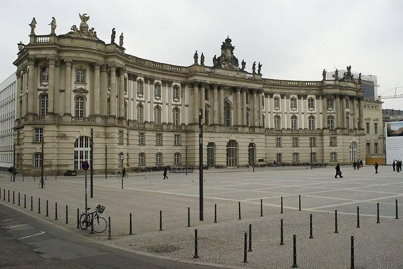 Берлинский университет: сведения абитуриентам из рф