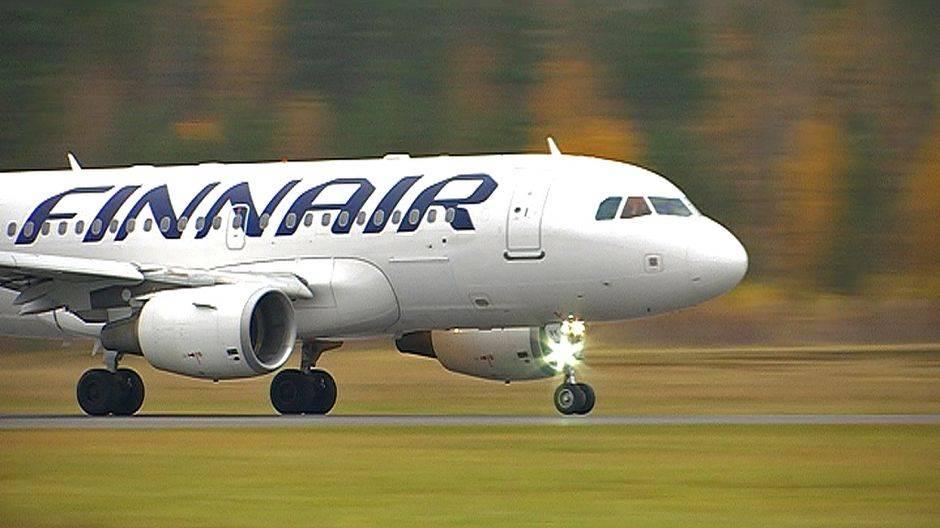 Услуги на борту самолетов finnair   finnair