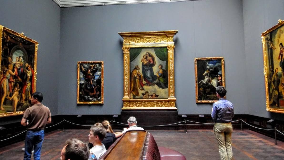 Дрезденская картинная галерея, цвингер и опера земпера