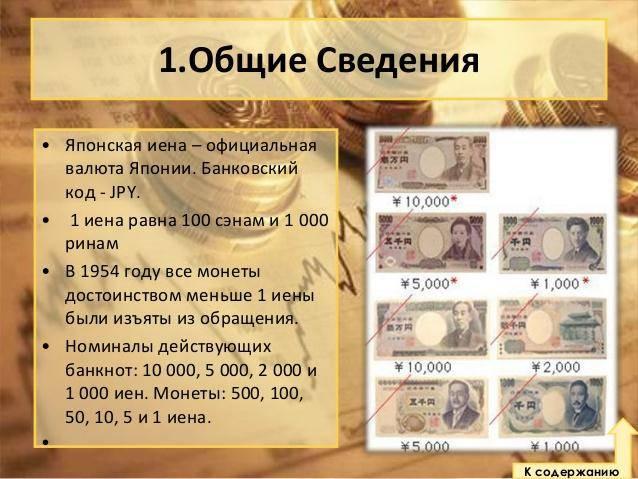 Японская иена (¥) — официальная валюта японии на туристер.ру