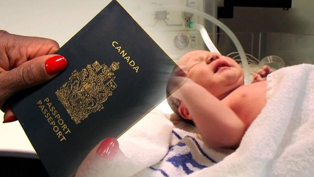 Ведение беременности и роды в канаде