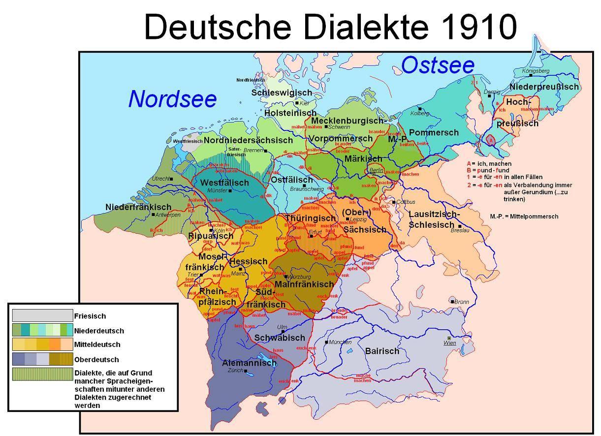 На каком языке говорят в австрии? разновидности австрийского диалекта