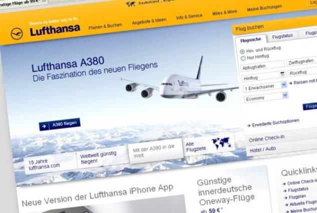 Lufthansa бронирование и регистрация - low cost эксперт - дешевые авиабилеты