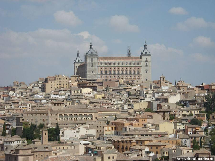 Толедо – средневековый город в испании