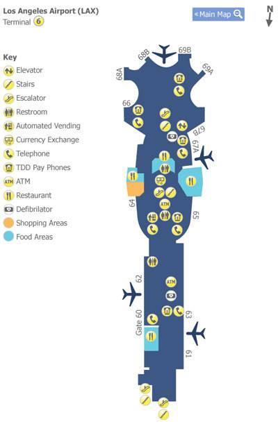 Аэропорт лос-анджелеса: онлайн-табло вылета и прилета