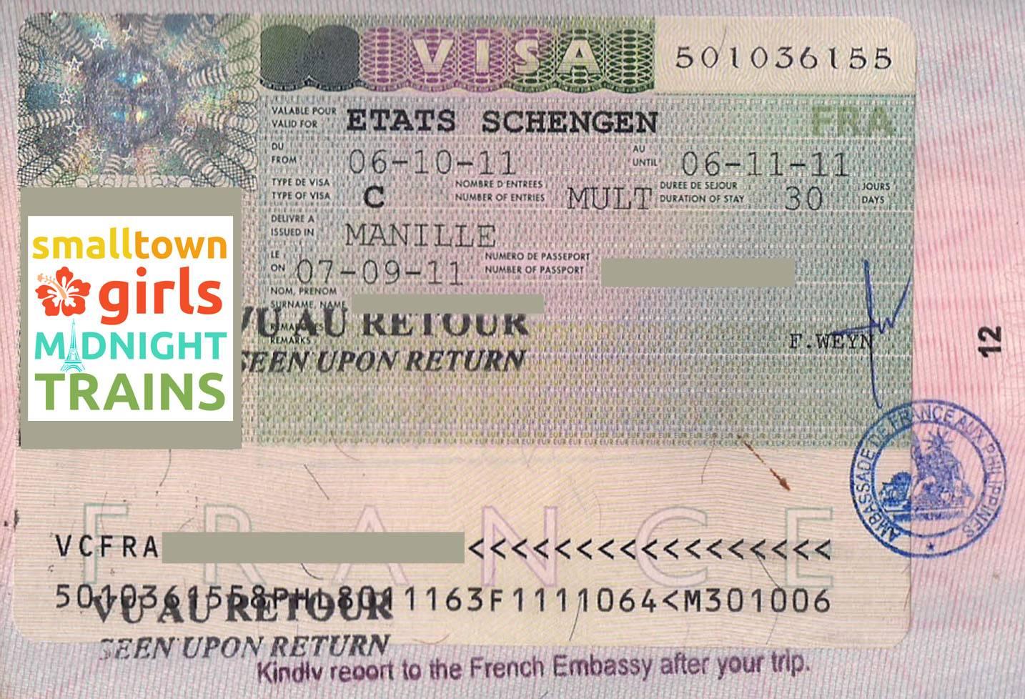 Документы на визу во францию 2020 – сайт винского