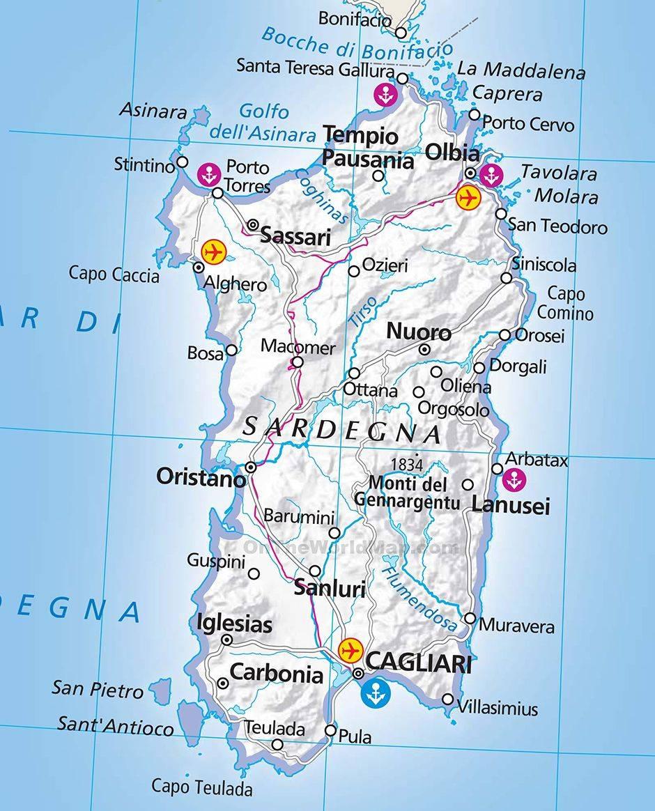Остров сардиния: отдых и достопримечательности