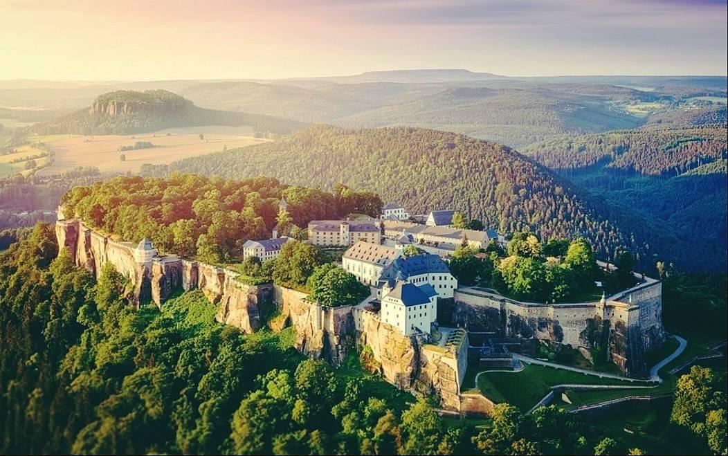 Парк саксонская швейцария в германии