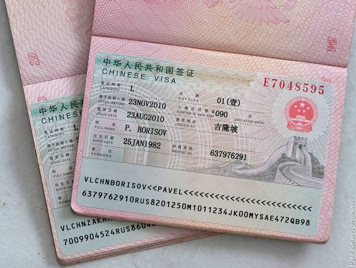 Виза в китай для граждан казахстана в 2021 году