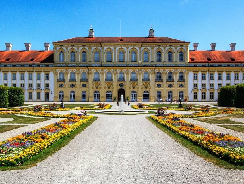 Дворы резиденции (residenz) - munchenguide