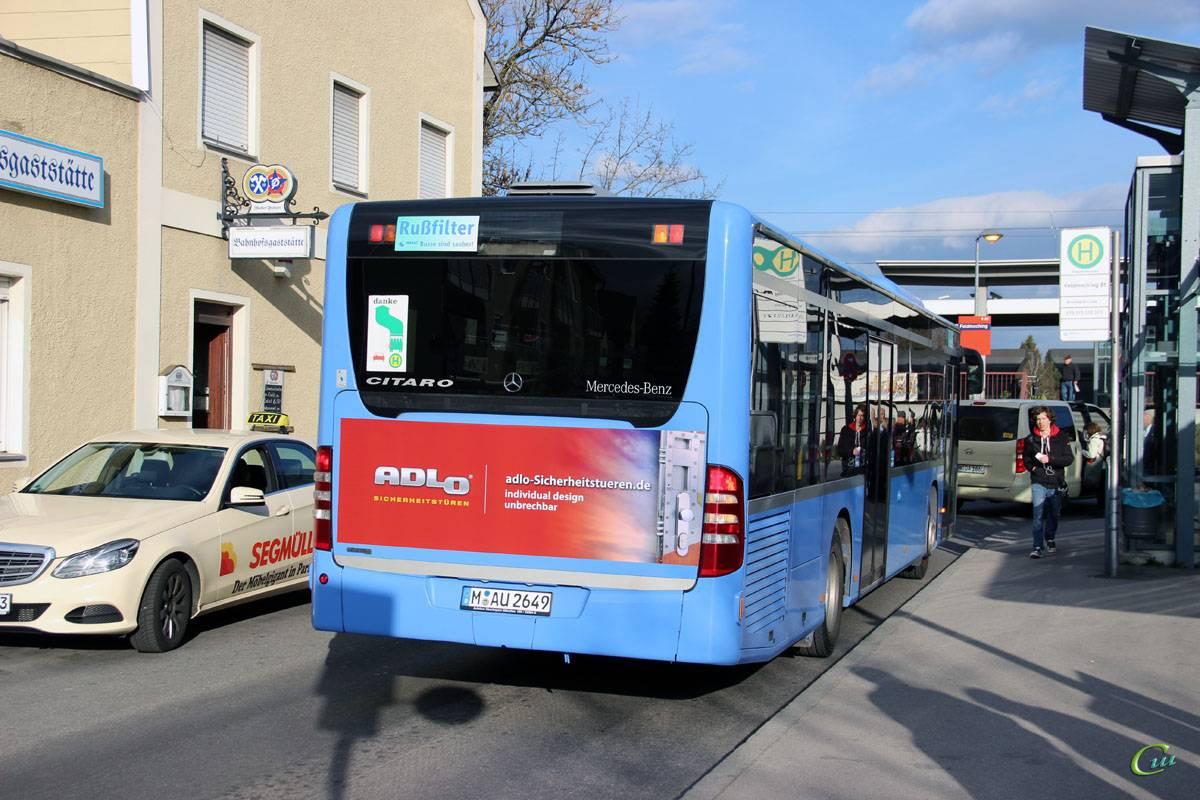 Особенности транспортной системы мюнхена