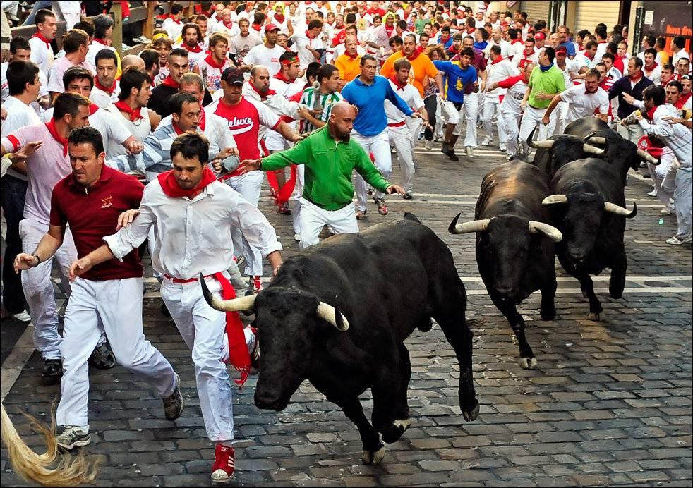 Сан-фермин: самый безумный праздник северной испании - экскурсии по северу испании pyrenalis