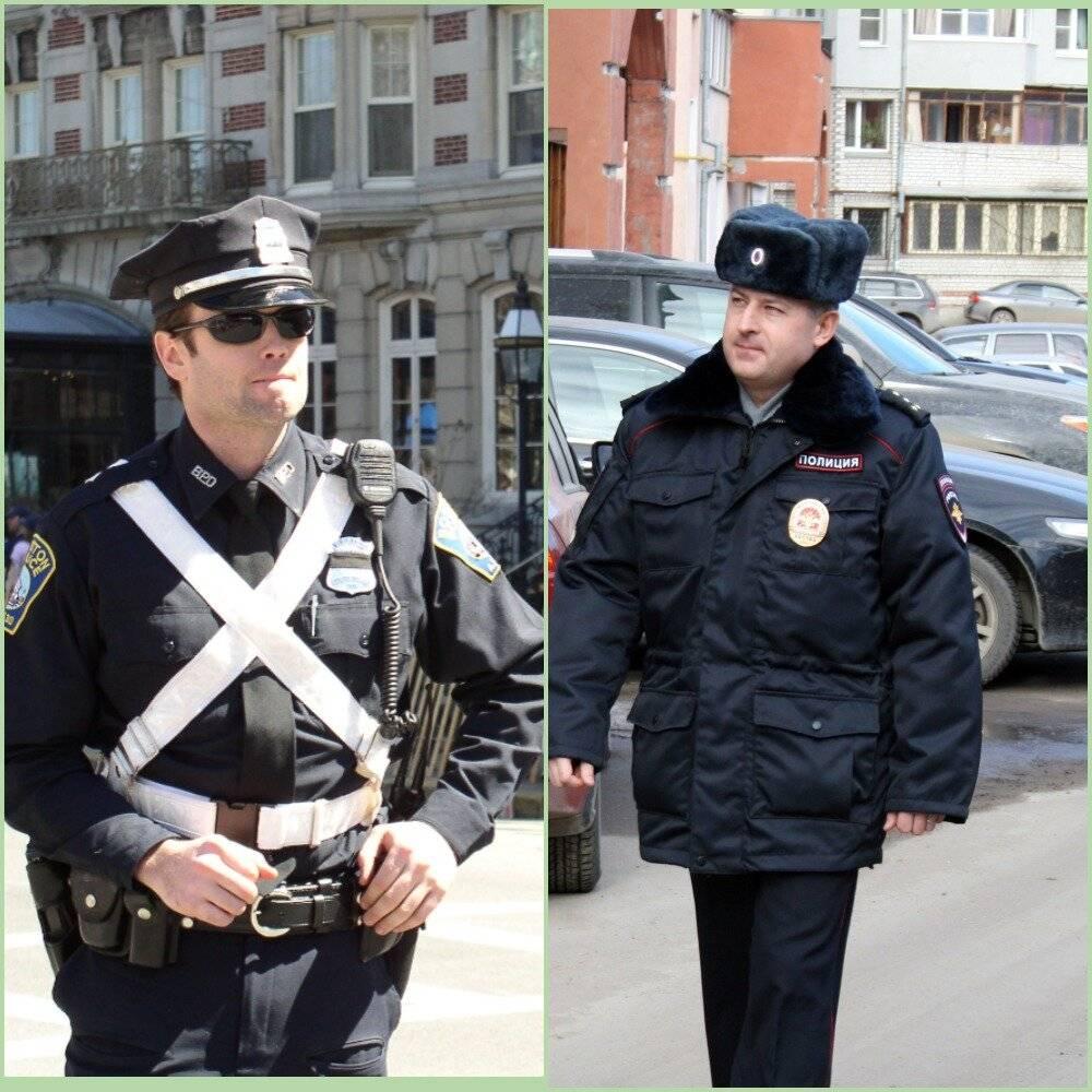 Какая зарплата у американского полицейского в месяц