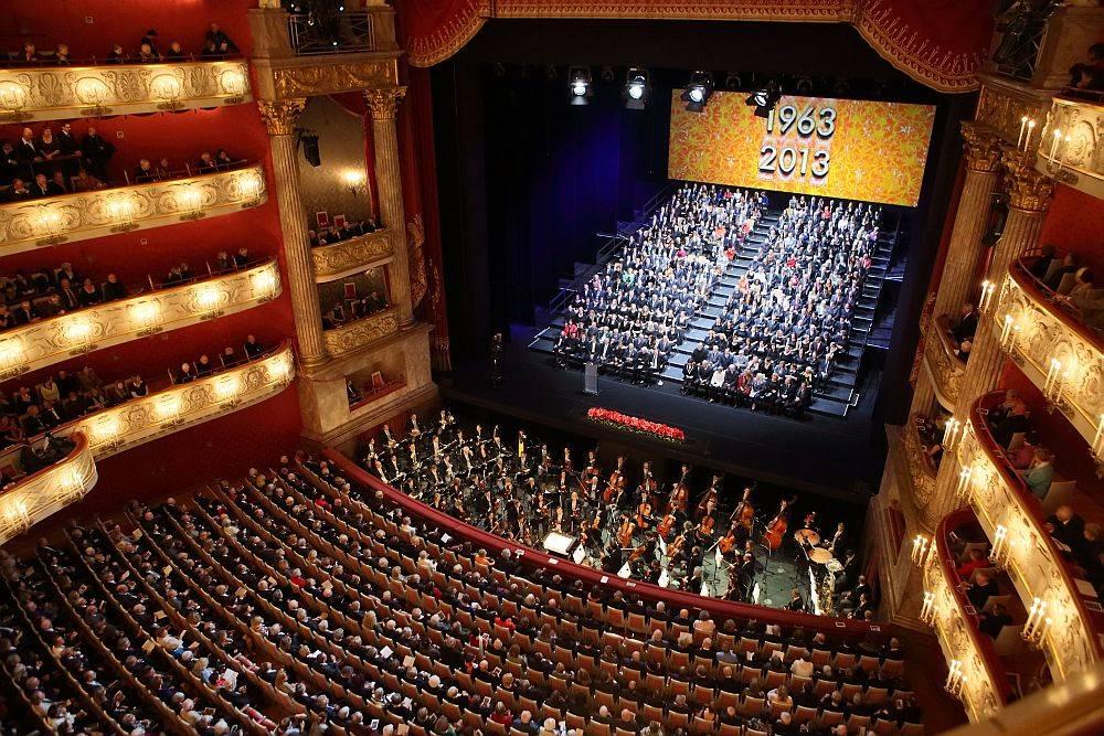 Национальный театр мюнхена (баварская государственная опера)