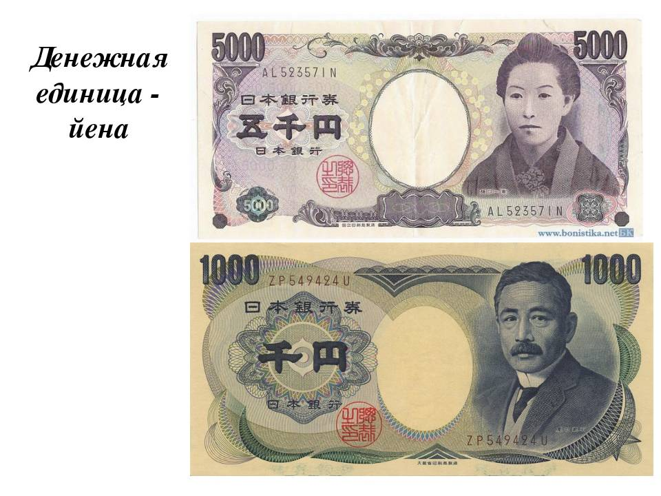 Японская йена (jpy) — answr