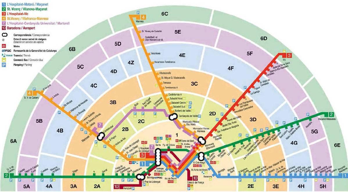 Метро барселоны: схемы, покупка и стоимость билетов