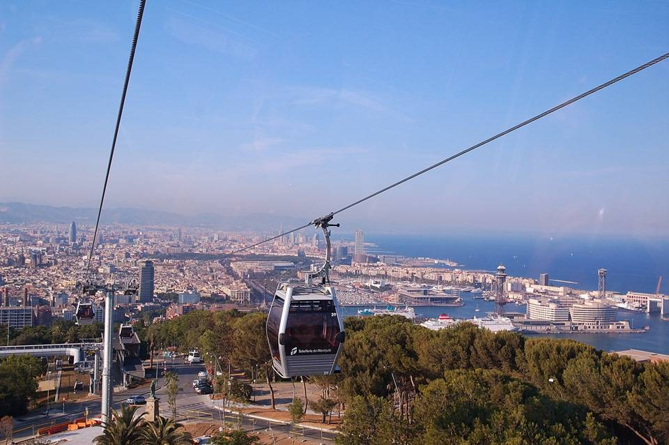 Фуникулер в Барселоне как один из видов транспорта