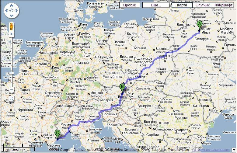Из мюнхена на поезде по европе: прага, вена, зальцбург, париж