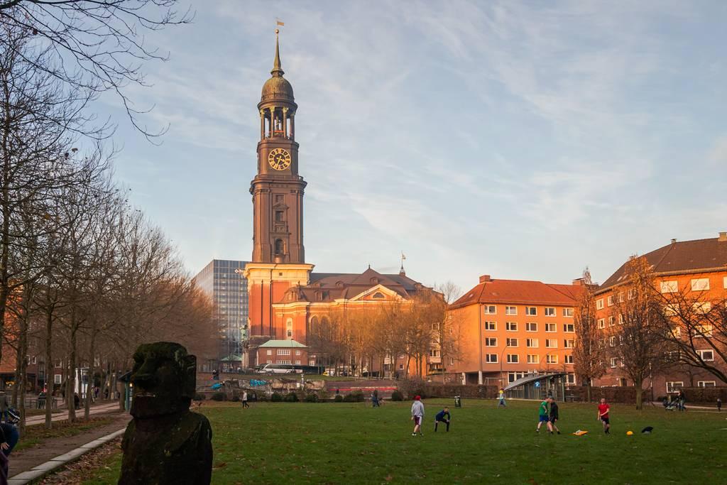 Церковь святого михаила, гамбург. отели рядом, фото, видео, как добраться, michel hamburg — туристер.ру