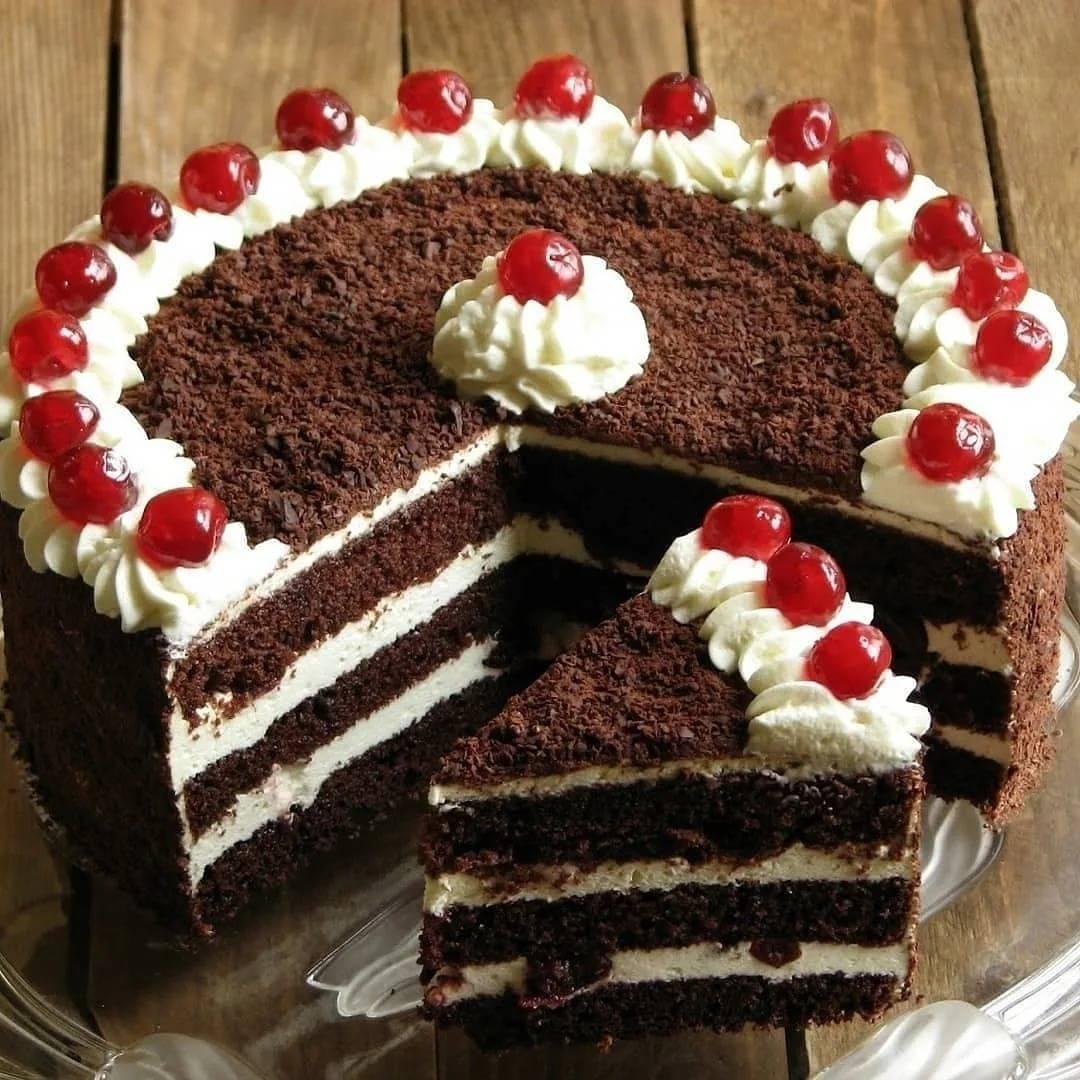 Шварцвальдский торт: пошаговый рецепт. шварцвальдский вишневый торт