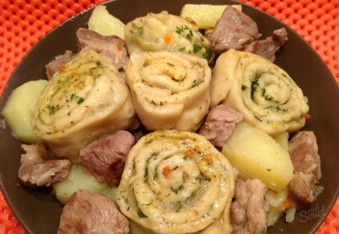 Приготовление штруделей по старинному немецкому рецепту