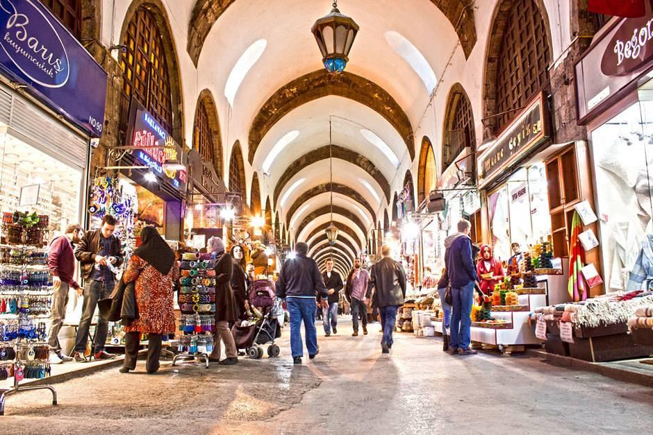 Базары стамбула - гранд базар и египетский рынок   стамбул