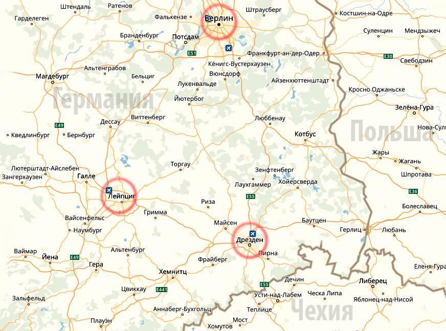 Как добраться из Лейпцига в Дрезден: самые удобные способы