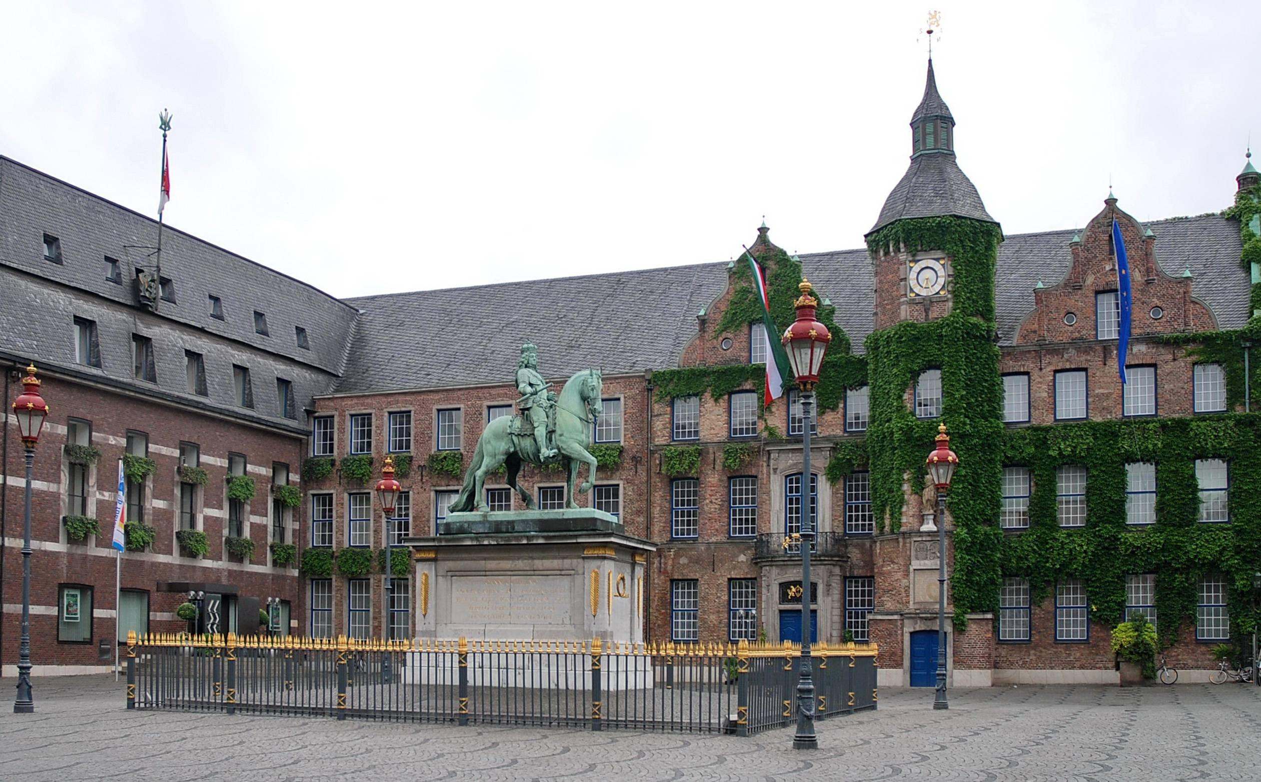 В дюссельдорф на 1-2 дня: маршрут прогулки