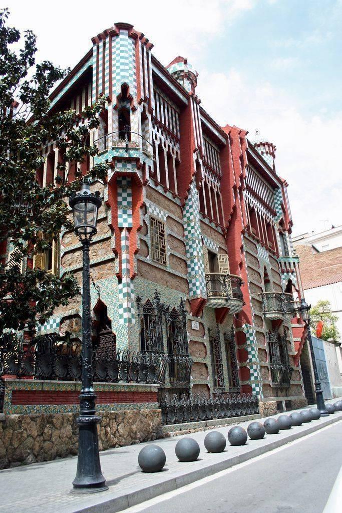 Дом висенса (барселона, испания) на карте: как добраться