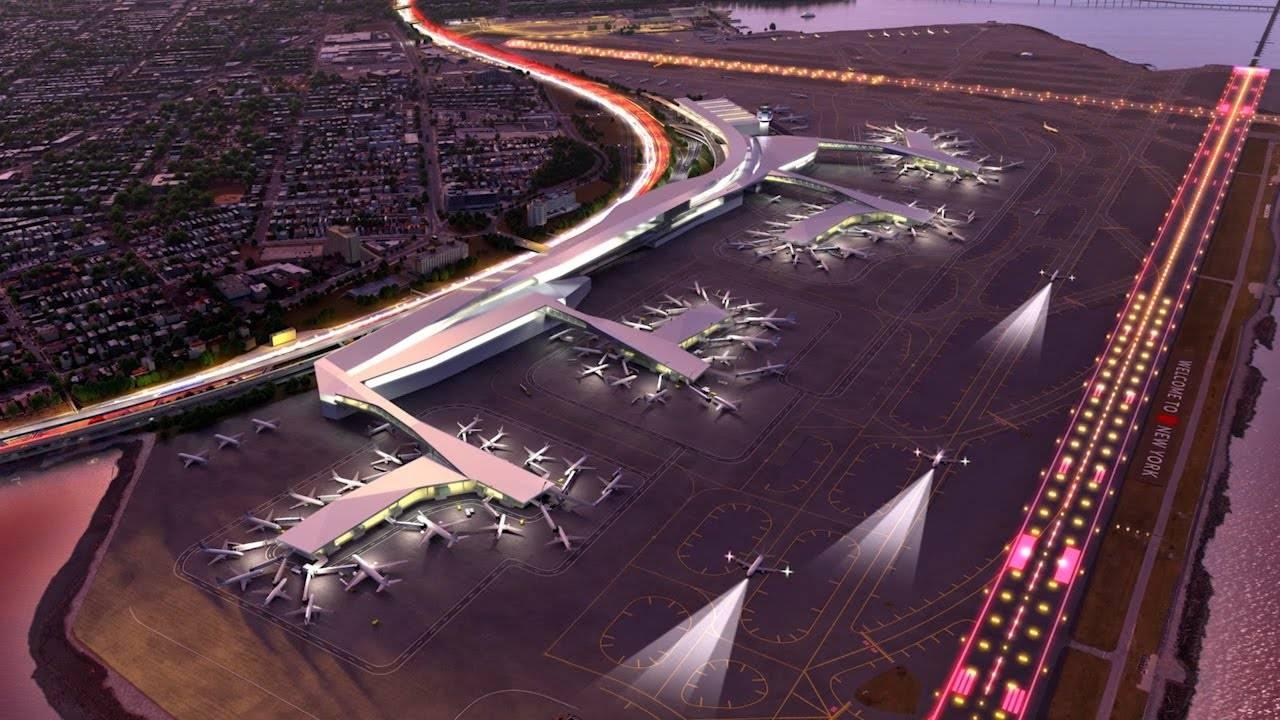 Аэропорты нью йорка: расположение, как добраться, схемы