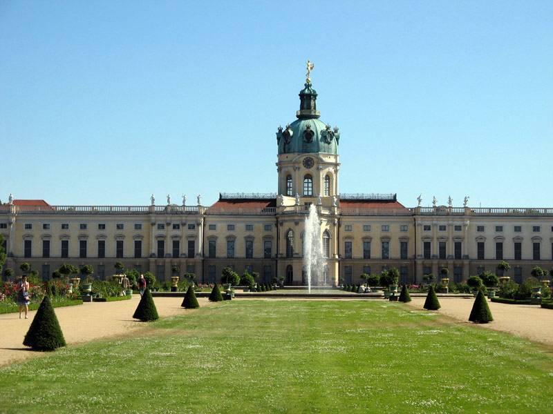 Дворец шарлоттенбург в берлине, описание и фото