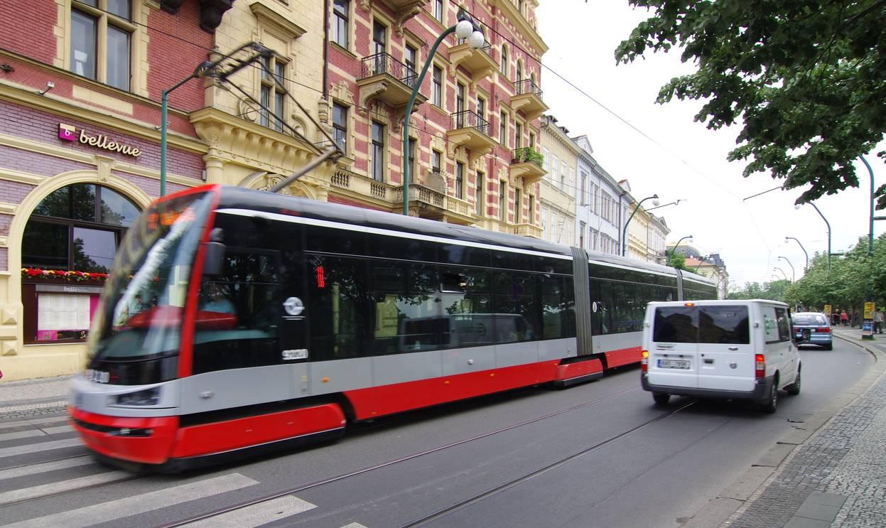 Городской транспорт в праге